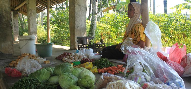 Sayur-Mayur-dan-kebutuhan-dapur-menjadi-barang-dagangan-andalan-di-Pasar-Desa-Sambak-namun-kini-mereka-hanya-jadi-pilihan-kedua-bagi-pembeli-karena-sudah-ada-pedagang-sayur-keliling-yang-bisa-menjangkau-hingga-rumah-ru