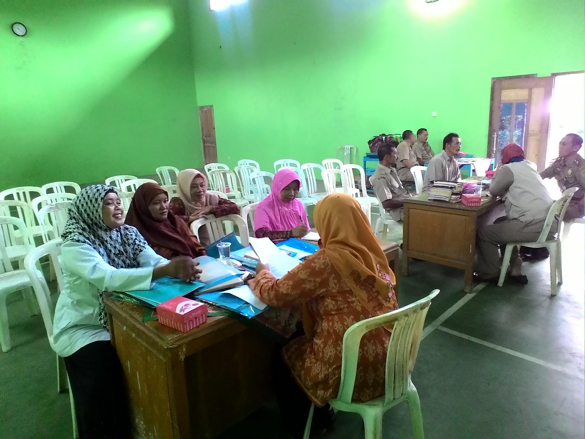 Tanya jawab tim kabupaten magelang dengan beberapa lembaga desa